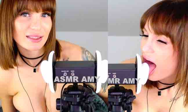 ASMR Amy Eargasm Earlicking Patreon Video Leaked!